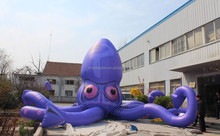 gaint vivid inflatable squid use for promotional or advertising
