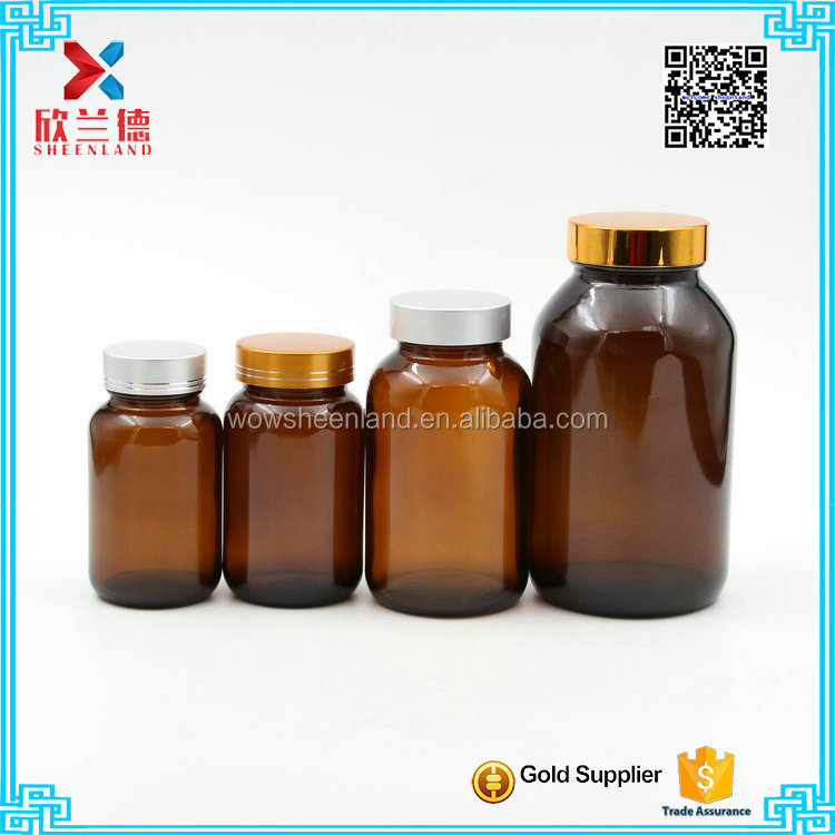 manufacturers 60ml glass pill bottles amber bottle