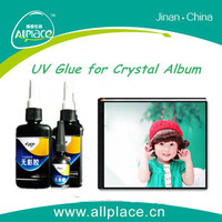 Hot Sale Clear Efficient UV Glue for Crystal Album