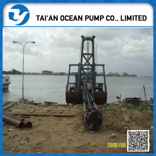 advanced Mechanical Cutter Suction Sand Pump Ship Dredger for Sale