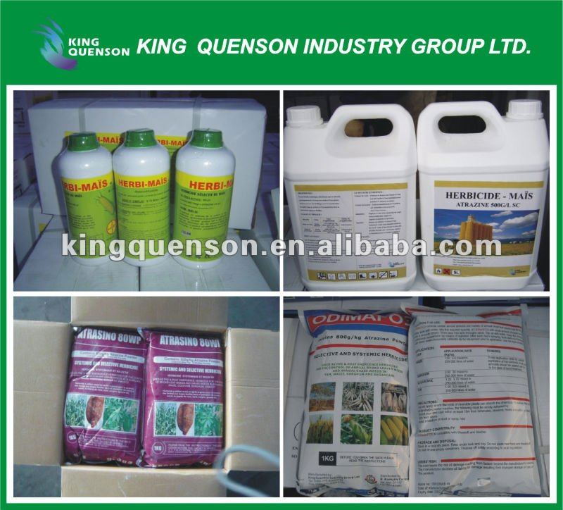 agrochemical Atrazine 80% WP fast weed killer