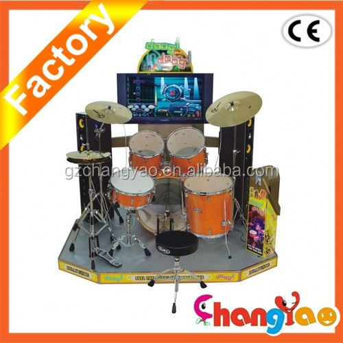 Doogi Doogi Jazz Drums Hot Selling Music Simulator Game Arcade Machine