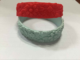 well design chinese element embossed flowers wide egypt silicone wristband