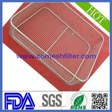 Stainless steel filter wire mesh basket 253 mm dia(Factory)