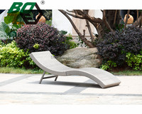 BOZE Outdoor PE rattan wicker sun lounger poolside furniture chaise lounge