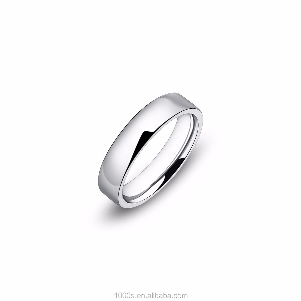 simple flat ring, 316L stainless steel rings wholesale