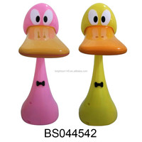 Battery Operated Duck Shape Rechargeable Folding LED Reading Lamp For Kids