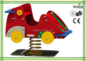 Kaiqi group PE board Car Spring Rider for Kids Play