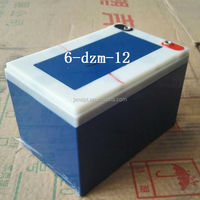 6-dzm-12 electric scooter battery 12V 12ah removable maintenance-free sealed lead acid battery