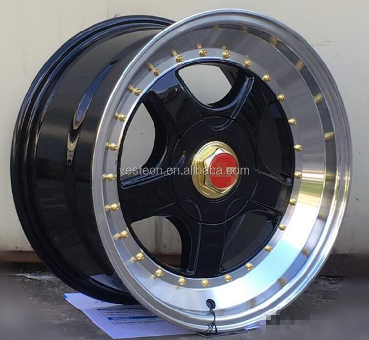 4x100 car aluminum alloy wheel rims
