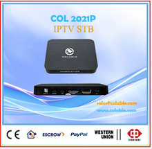 Europe iptv hot selling iptv set top box without including iptv account Italy/France/english NBA Indian