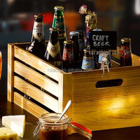 Pine wood & plywood Crate Wooden Crate Rustic Finish Rustic finish Display & storage crate