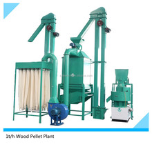Turn-key 500kg Biomass Pellet Plant for sale/Wood Pellet Manufacturing Plant