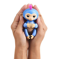 WowWee Fingerlings Zoe Turquoise Baby Monkey