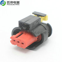 Amp 3 Position Rectangular 24 VDC Fuel Injector Housing Connector 284425-1 for Spark Coil