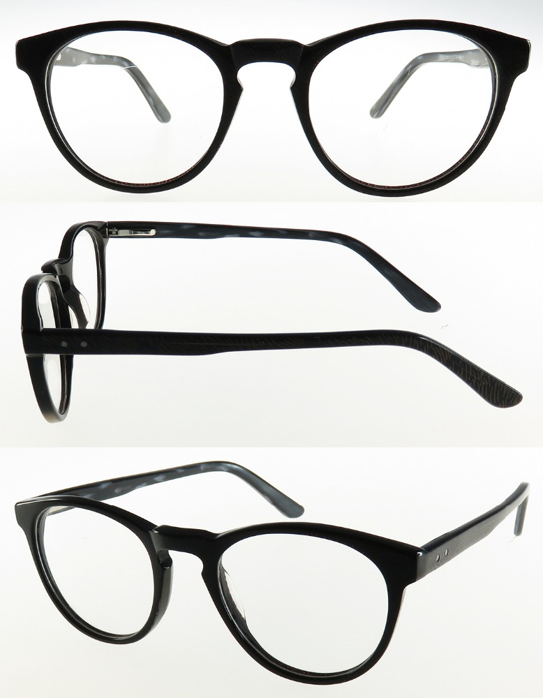 High quality acetate retro ready stock optical frame