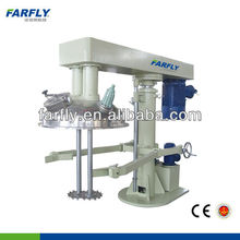 Factory price dual-shaft hydraulic lifting disperser ,dissolver,paint mixing machine with tank arm