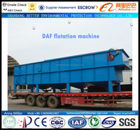 200cbm/hr. leather factory waste water treatment flotation machine, quick remove of TSS/BOD/COD