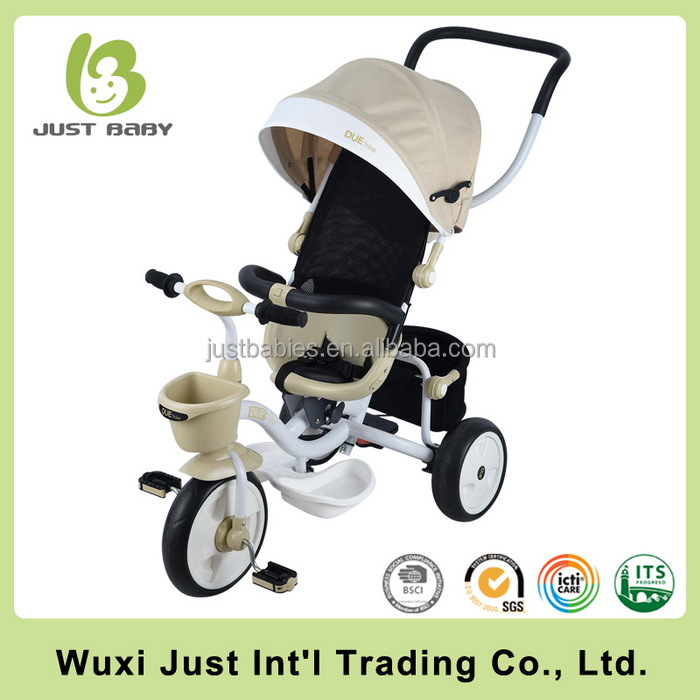 Best quality baby trike supplier/China good price baby smart trike/baby tricycle stroller