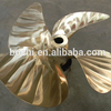 Marine 4 Blade B type Large Crane Ship Copper Alloy Fixed Pitch Propeller