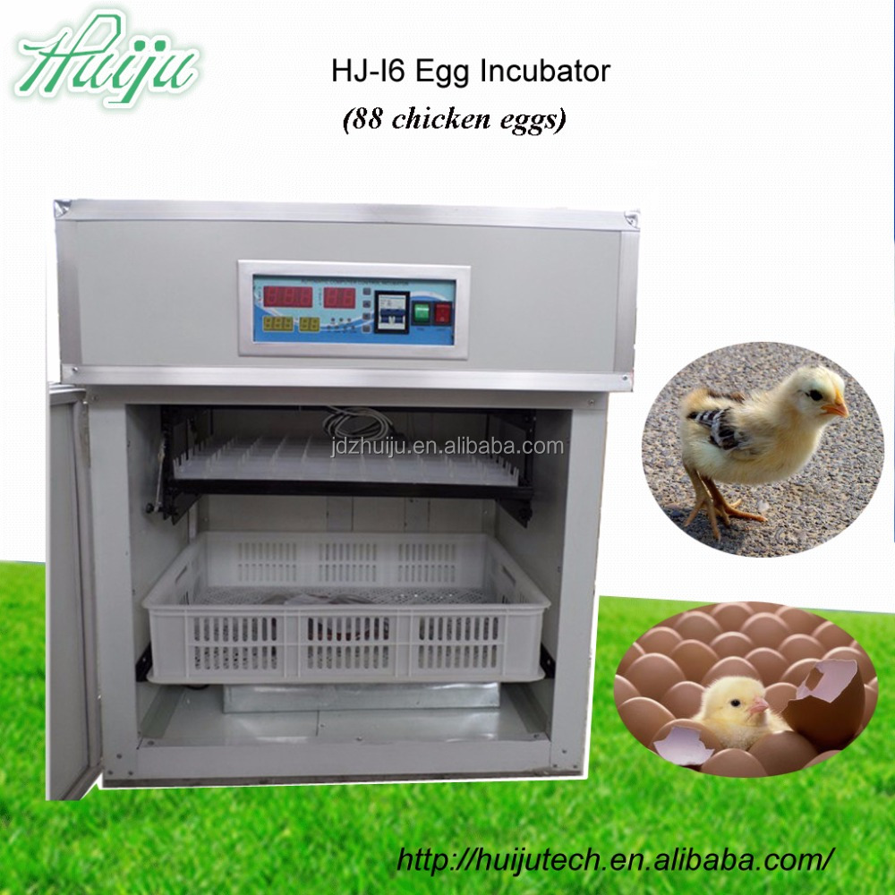 Top quality & price cheap egg incubator for sale 88 egg chicken tray for baby incubator price in China HJ-I1