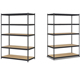 Garage storage used metal chipboard rack shelf for spare parts