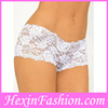 white lace plus size sexy g-string panty girls underwear