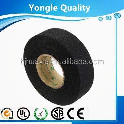 vinyl eletrical tape automotive wire harness cloth tape viscose fabric HX9510/automotive wire harness tape