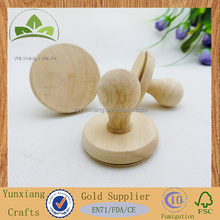 Popular wooden cookie stamp with silicone