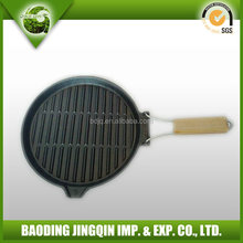 2016 OEM hotsale easy cast iron pan with a long handle