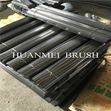 Save Cost Brush Flat Steel Fibers For Road Gutter Broom