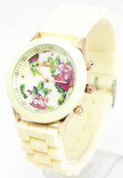 freeshipping china product wholesale hot diy flowervwatch