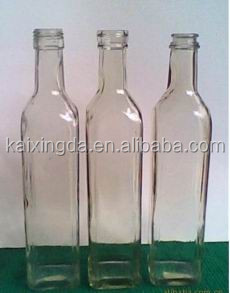 customize different shape and capacity glass bottle