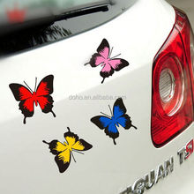 Hottest sell Custom Outdoor magnetic bumper stickers die cut vinyl,UV Protected Removable funny car stickers ---DH20369