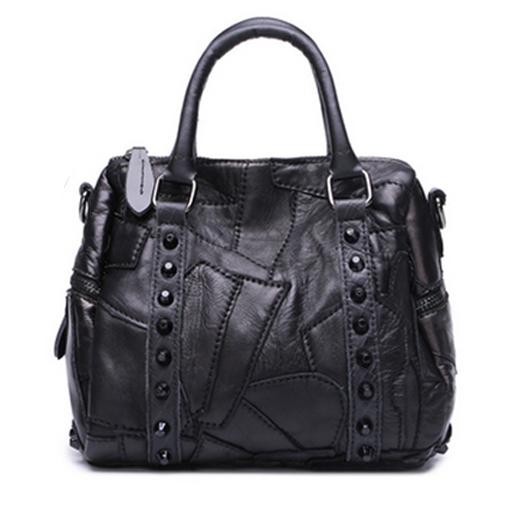 2016 Large Capacity Hot Selling Handbags for Women Fashion Goat Skin Sued Ladies Handbag Boston China Wholesale Women Bags