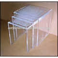 lucite nesting table-night stand-acrylic side table-FD1408032002