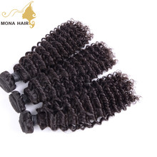 kinky twists hair braiding grade 7A kinky curly hair weft european hair color products