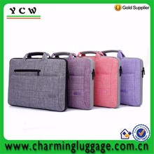 Wholesale high quality notebook shoulder carrying laptop bag