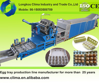 CE approved Egg tray making machine