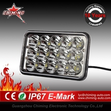 Guangzhou factory 45w 7 inch 12V 24V LED Light, Off Road JEEP SUV ATV 4WD 4X4 TRUCK WORK LIGHT hi lo beam