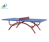 The National Standard Indoor & outdoor folding PingPong Table Tennis Table