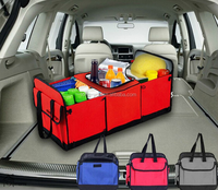 various color car organizer collapsible trunk organizer with cooler