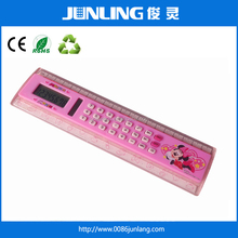 JL-C35 Promotion Calculator 20cm Ruler Calculator Solar Power