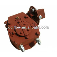 WCB worm gear for ball valve