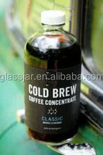 500ml boston cold brew coffee glass bottles with cap