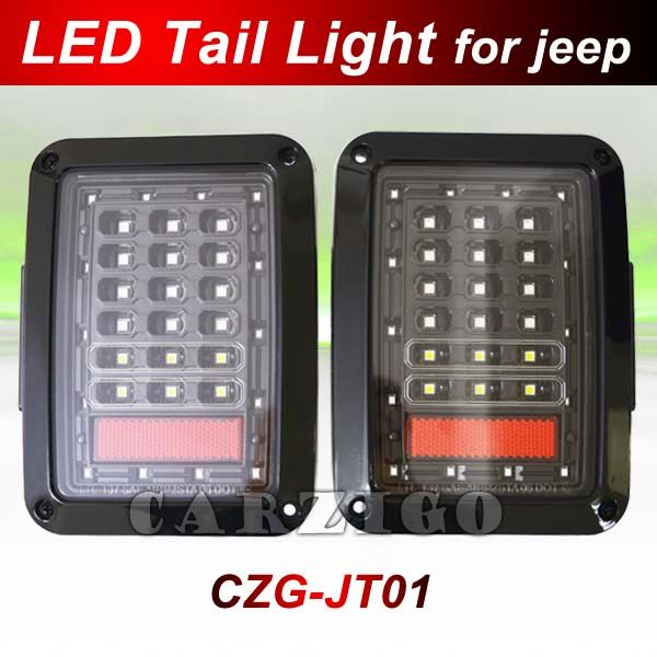European/American version DOT SAE E-mark approved made in china advantaged price jeep LED Running light