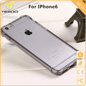 Yesido Best selling case transparent clear phone case bulk acrylic cover case for ip6