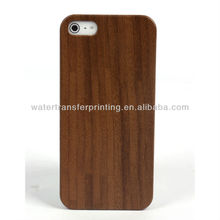 p015 WOOD decoration pattern hydrographic printing case For iphone 5