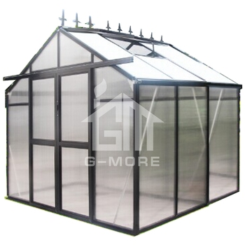 8MM PC Multifunctional Victorian Greenhouse - GM34403-B