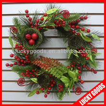 hot selling promotional christmas wreath supplies